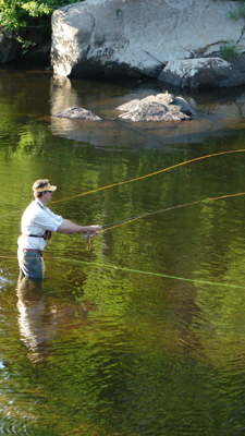 Adirondack fishing within the 6 million acre park in for Adirondack fly fishing