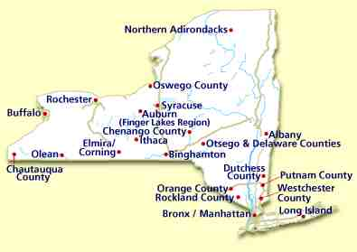Calendar of Events in The Adirondack Park in Upstate New
